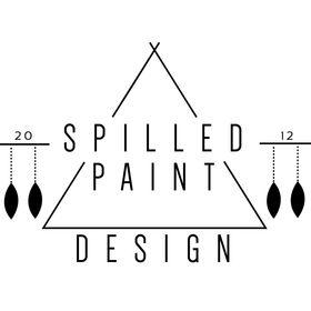 Spilled Paint Design