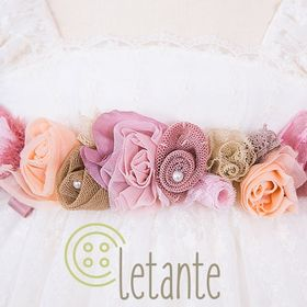 Letante Βαπτιστικά Christening Clothes and accessories