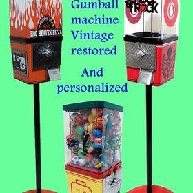 Custom Gumballs Machines