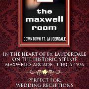 Historic Maxwell Room