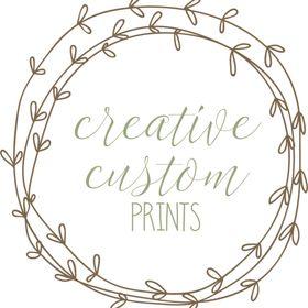 Creative Custom Prints