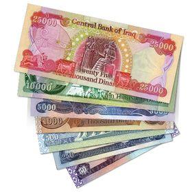 IRAQI DINAR 2500  10 X 250 DINAR NOTES   CRISP UNCIRCULATED Foreign Currency
