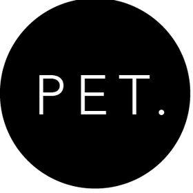 PET. the label
