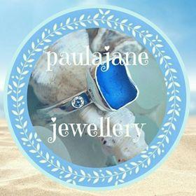 Sea Glass, Recycled Silver & Eco Diamond Rings handmade by paulajane jewellery