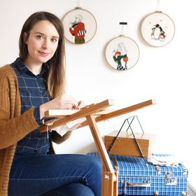 Marion Romain | Broderie, Inspiration, Lifestyle
