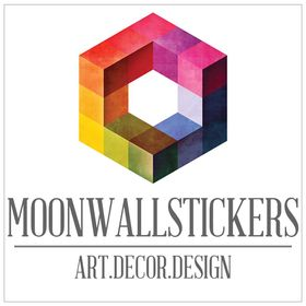 Moon Wall Stickers & Travel Leisure