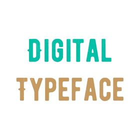 Digital Typeface