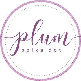 Plum Polka Dot | Christina