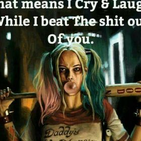 Harley quinn male reader harleys persuasion imouttamymind brb