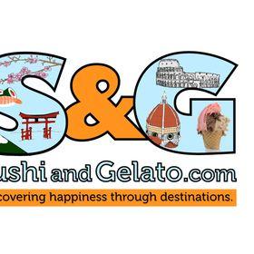 Sushi and Gelato