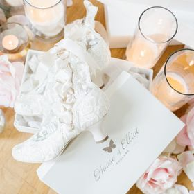 House of Elliot Lace Boots and Wedding Shoes