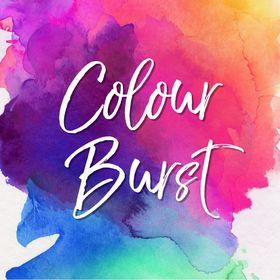 Colour Burst Invites