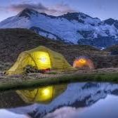 Outdoor Camping and Hiking