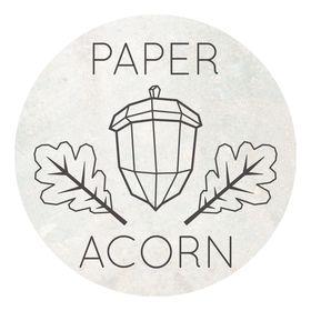 Paper Acorn