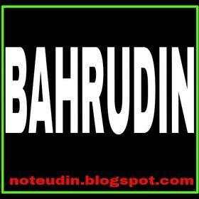 BAHRUDIN