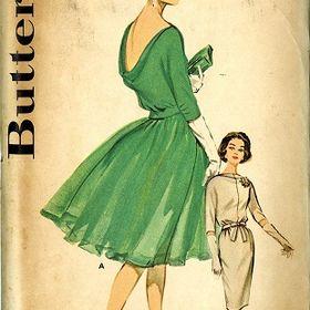 b072b85c3a Vintage Pattern Warehouse (vintagepatternwarehouse) on Pinterest