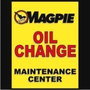Magpie Oil Change