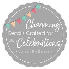 Janee's Elite Designs | Invitations, Paper Goods & Party Decorations