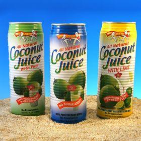 Amy & Brian Coconut Juice