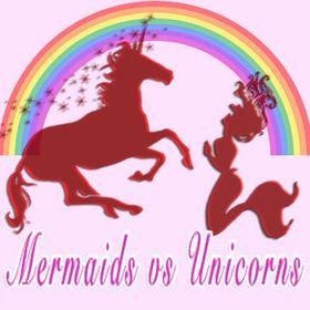 🌊 Mermaids vs Unicorns 🦄