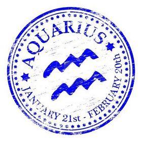 Aquarius Mann aus einer piszen Frau