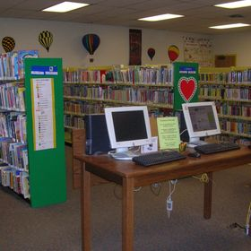 Children's Room at the North Tonawanda Library