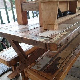 Johannesburg reclaimed wooden furniture