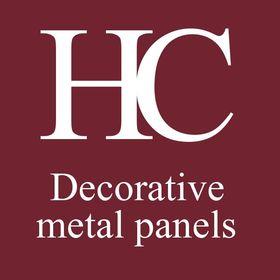 Decorative metal panels