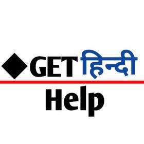 Get Hindi Help