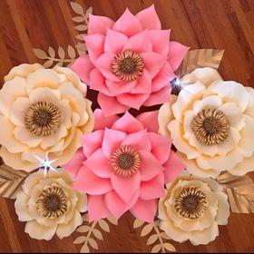Paper Flowers Garden