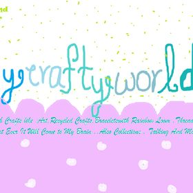 #Mycraftyworld with all the crafts