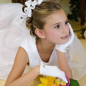 First Communion Dresses - Communion Veils