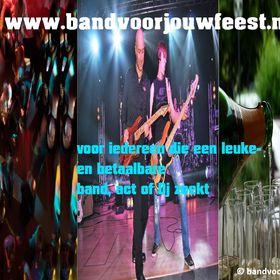 bandvoorjouwfeest Betaalbare DJ, muziekband, partyband of band voor bruiloft en bedrijfsfeest