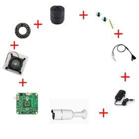 "Hidden SPY  1//3/"" Sharp CCD Board Camera With 3.7mm Pinhole Lens PAL System"