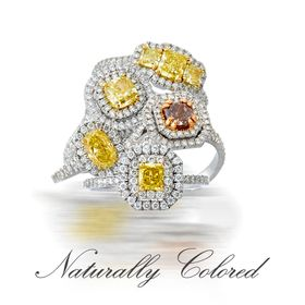 Colored Diamonds by Naturally Colored