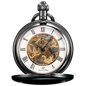 Fine Antique Style Ornate Steampunk Glass Dome Mechanical Pocket Watch Necklace Finely Processed Pocket Watches