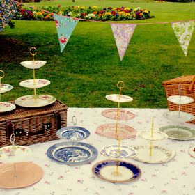 Cake Stands by Leah Clare