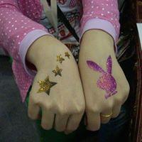 Vividbodyart Glitter-Tattoo