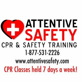 Attentive Safety CPR and Safety Training