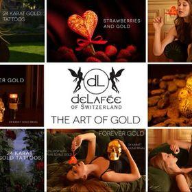 Delafee Edible Gold