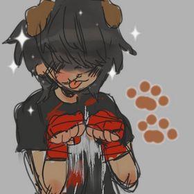 marshmallow puppy
