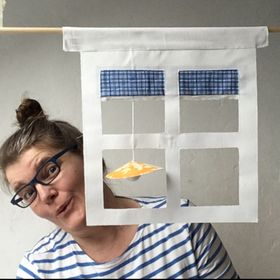 Uta Hansons Fenster: Skandinavisch, Maritim, Quiltig, Hyggelig