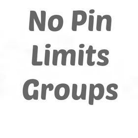 No Pin Limits - Groups per Category