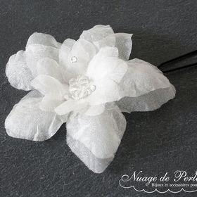 Nuage de Perles bijoux pour le mariage