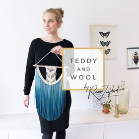 Teddy and Wool | Modern Macrame Decor