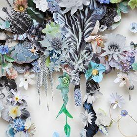 Kwan Crafts Tampons transparents en forme de vase de fleurs pour la fabrication de cartes et le scrapbooking