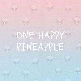 Lonely Happy Pineapple