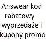 Answear kod rabatowy