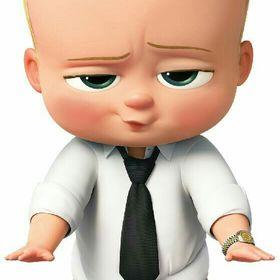 The baby boss.. 😎