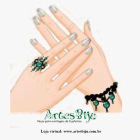 ArtesBiju peças para montagem de bijuteria